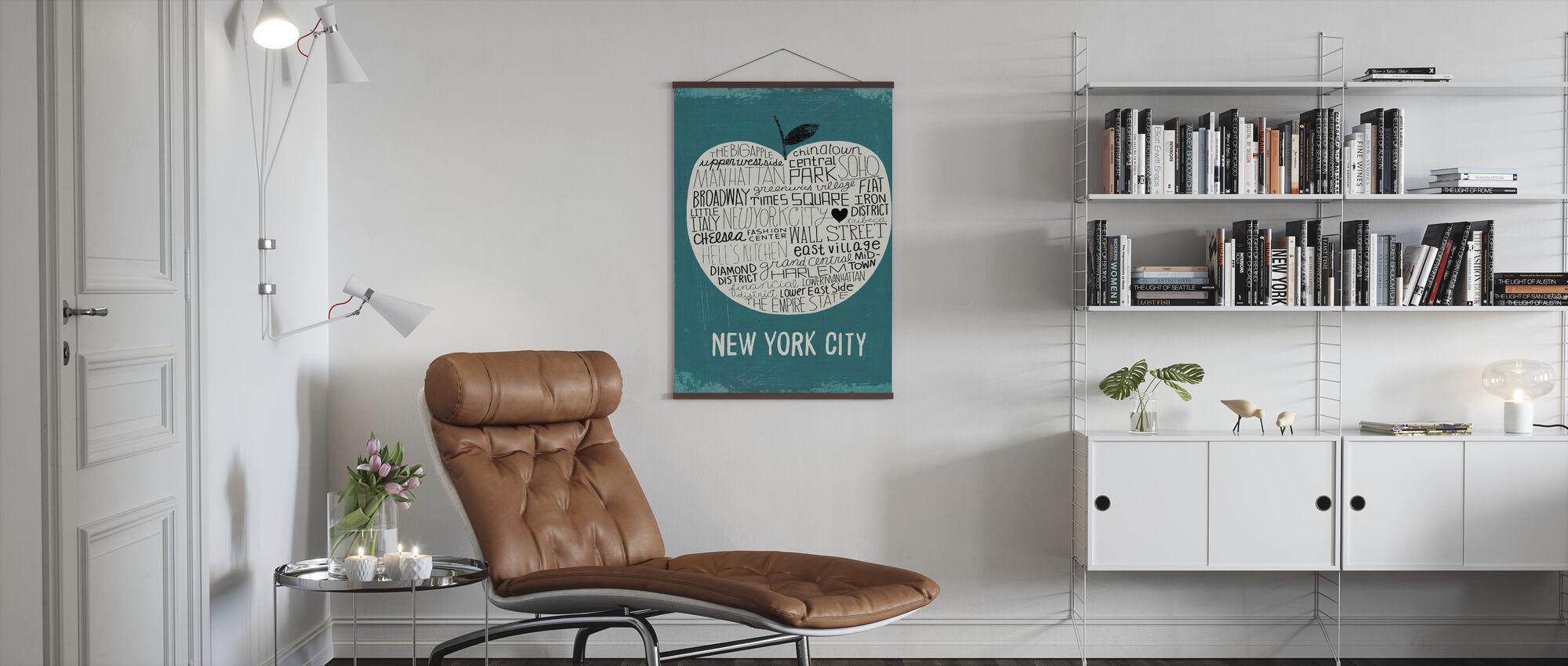 Mullan - Big Apple - Poster - Living Room