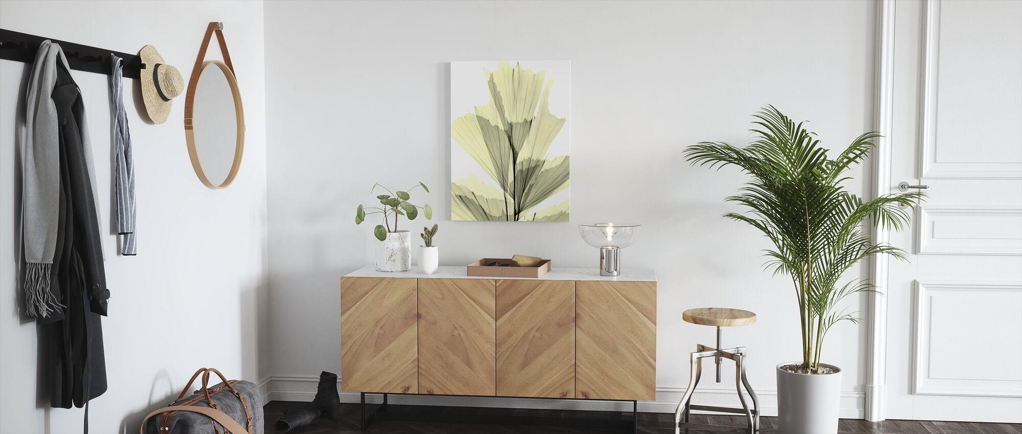 Fish Tail Palm - Canvas print - Hallway