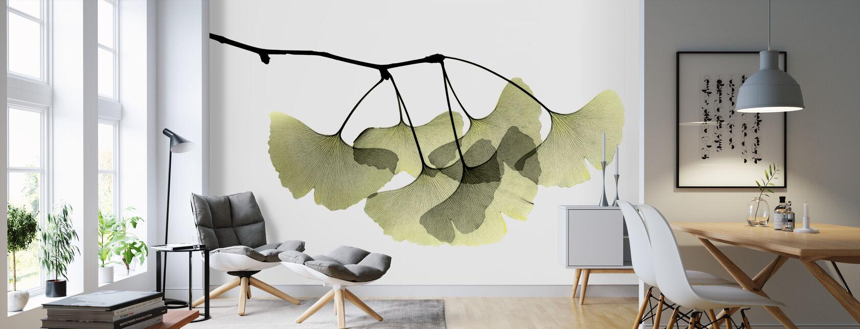 Ginkgo Biloba - Wallpaper - Living Room