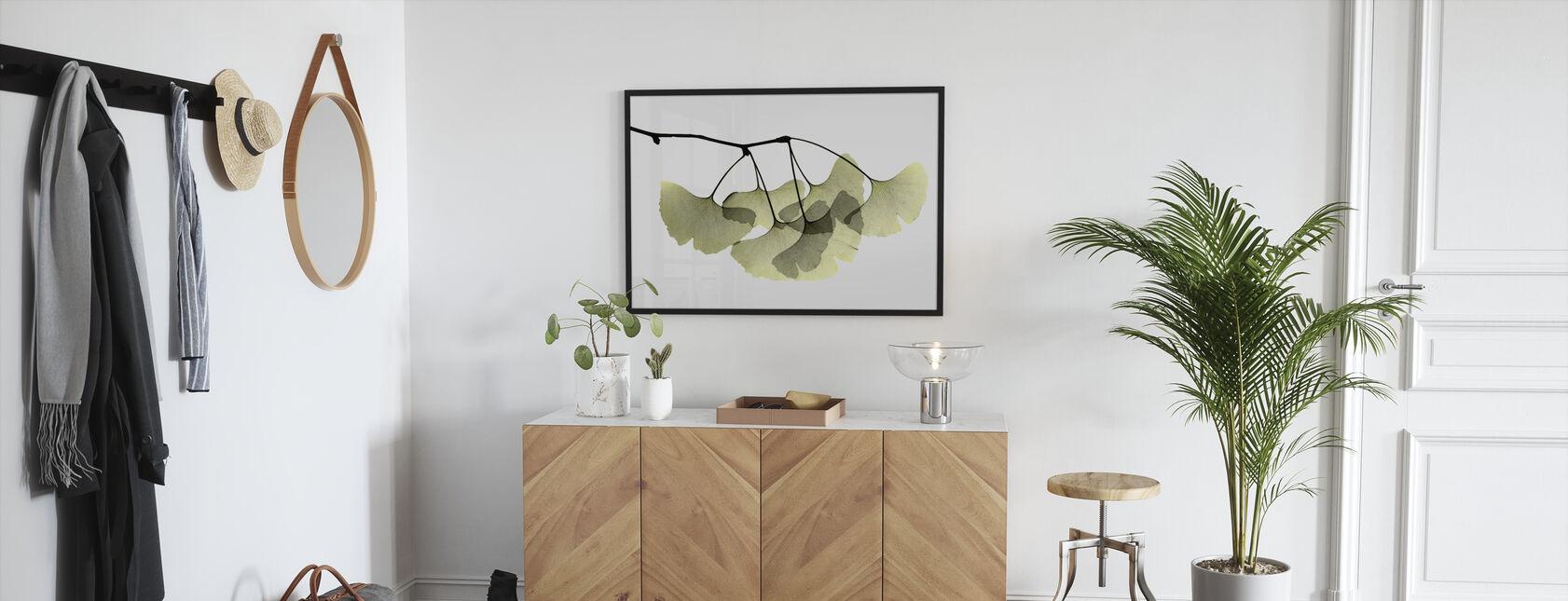 Ginkgo Biloba - Framed print - Hallway
