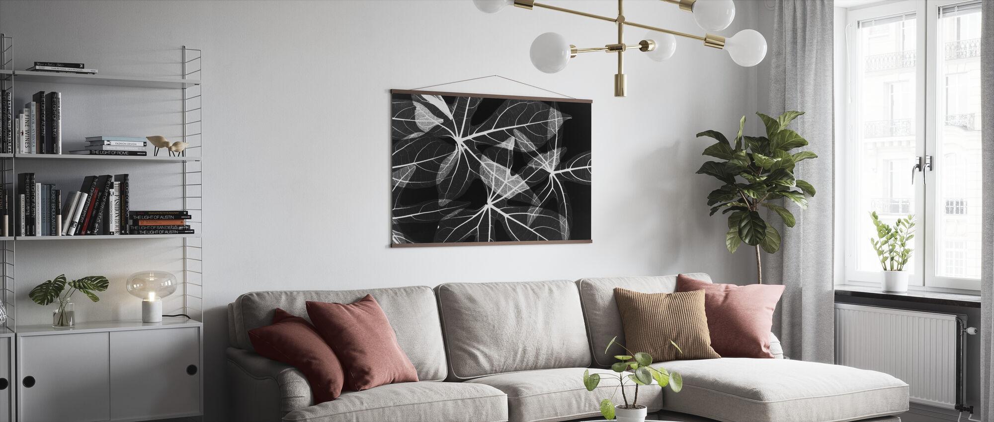 Blätter - Poster - Wohnzimmer