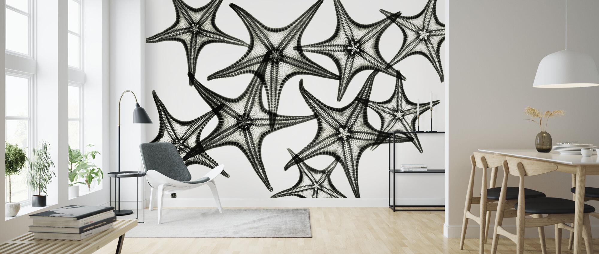 Starfish - Wallpaper - Living Room