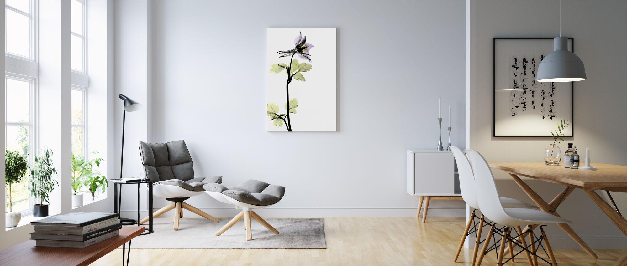 Columbine - Canvas print - Living Room
