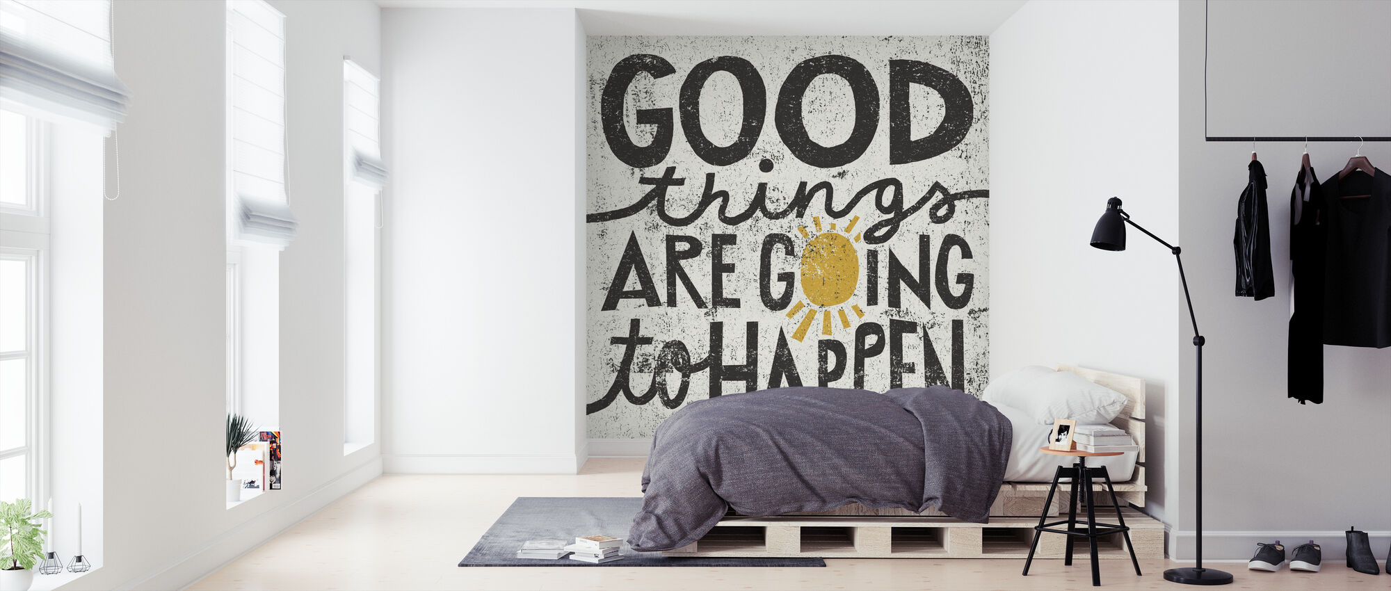 Good Things are Going to Happen - Wallpaper - Bedroom