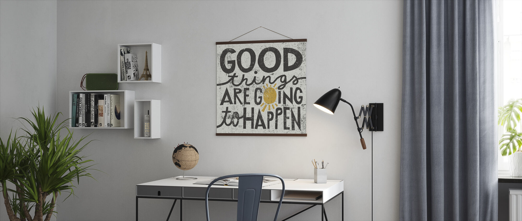 Good Things are Going to Happen - Poster - Office