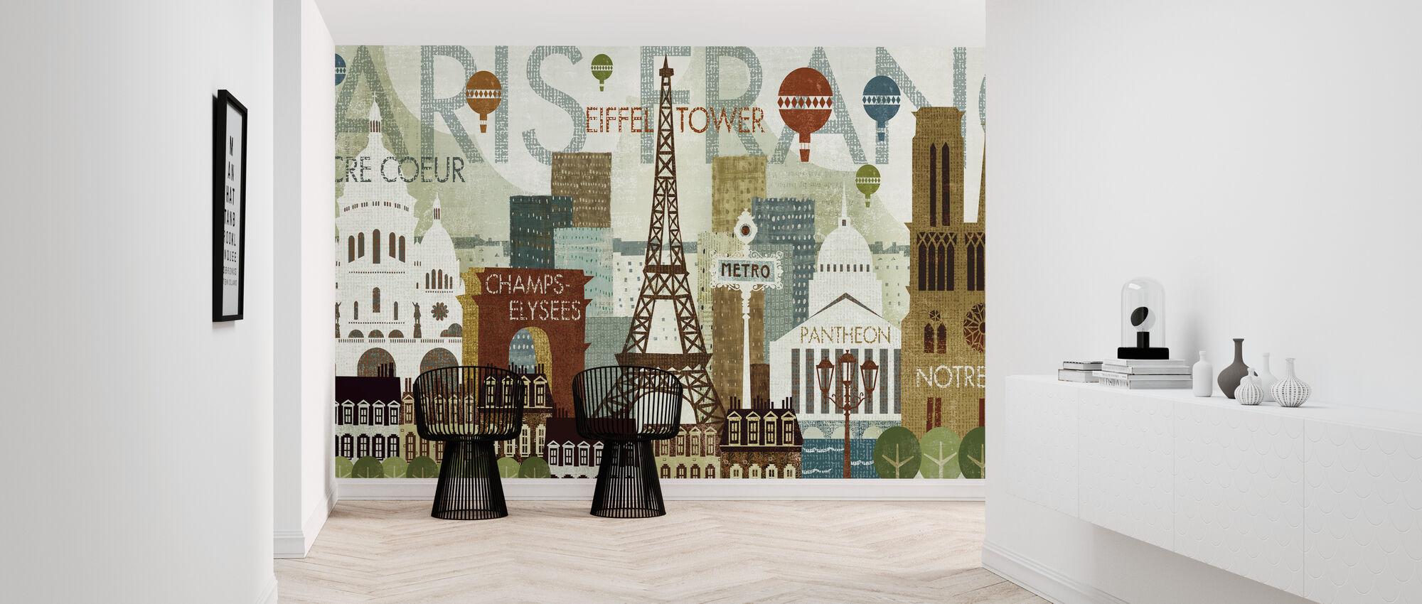 Hello Paris - Wallpaper - Hallway