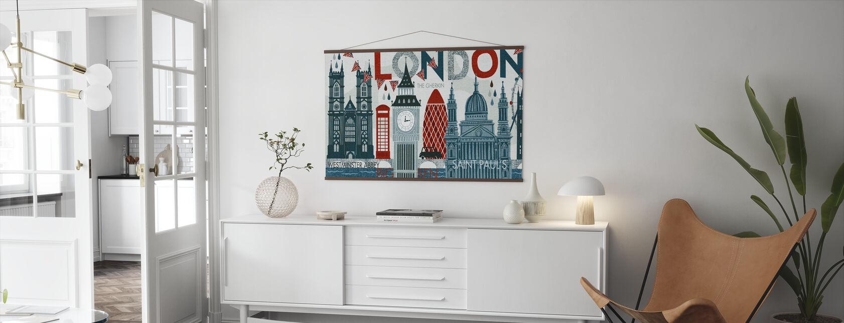 Hello London - Poster - Living Room