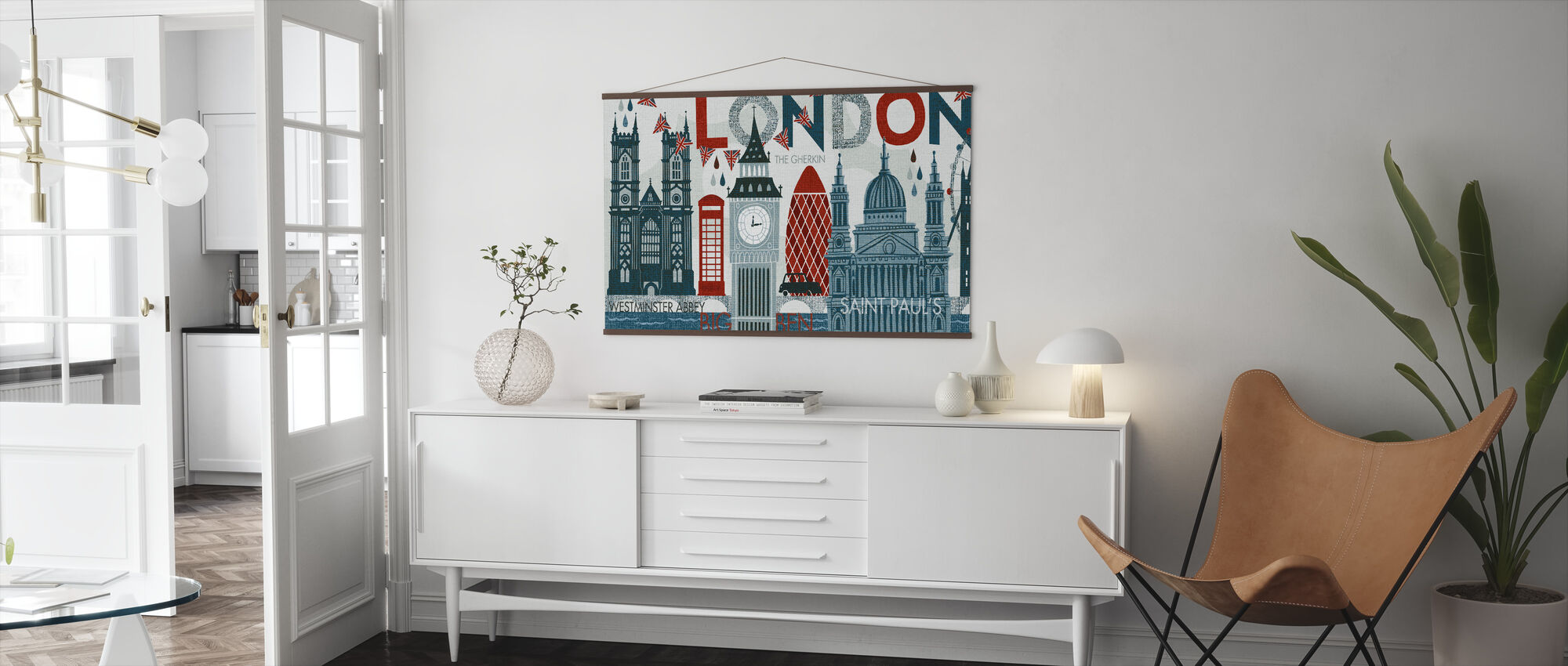 Hello London - Poster - Living Room