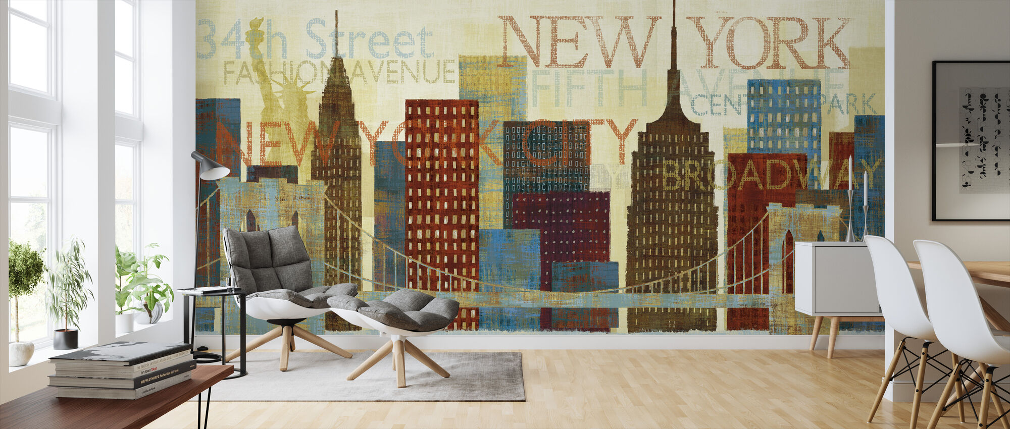 Hey New York - Wallpaper - Living Room