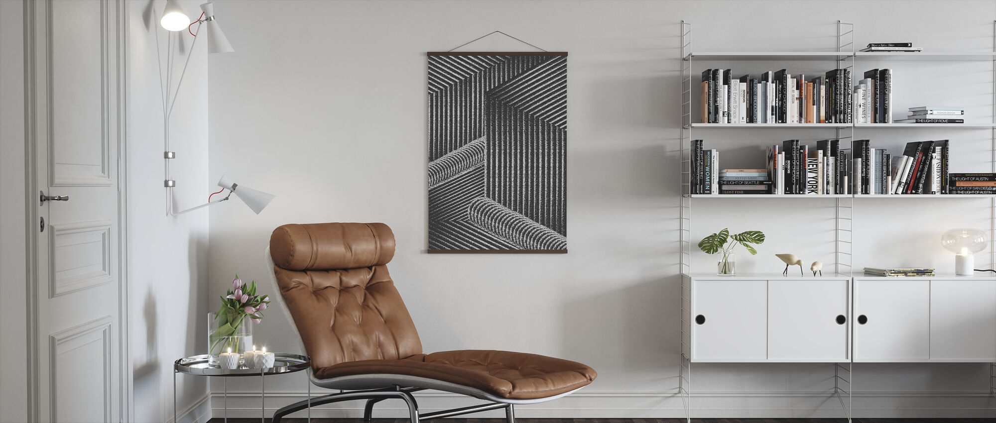 Waterval - Poster - Woonkamer