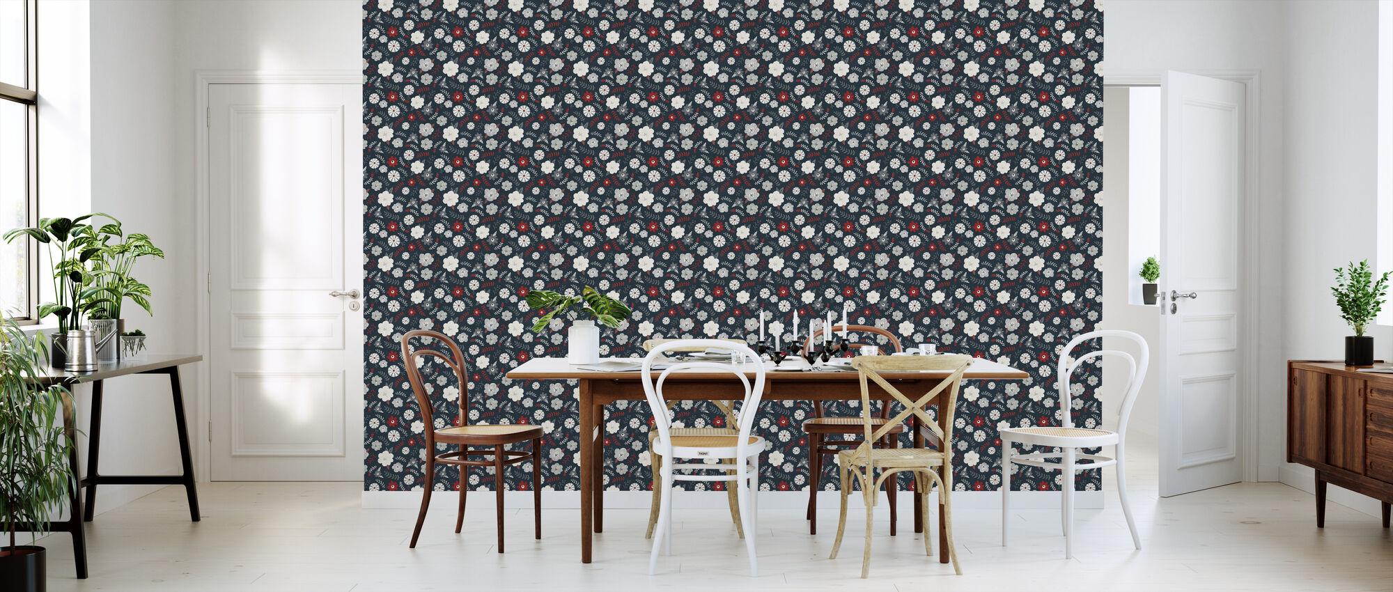 Mullan Vintage Bouquet 4 - Wallpaper - Kitchen