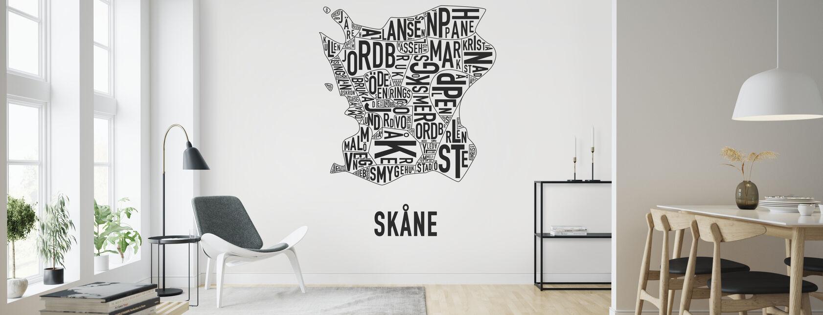 Skåne - Wallpaper - Living Room