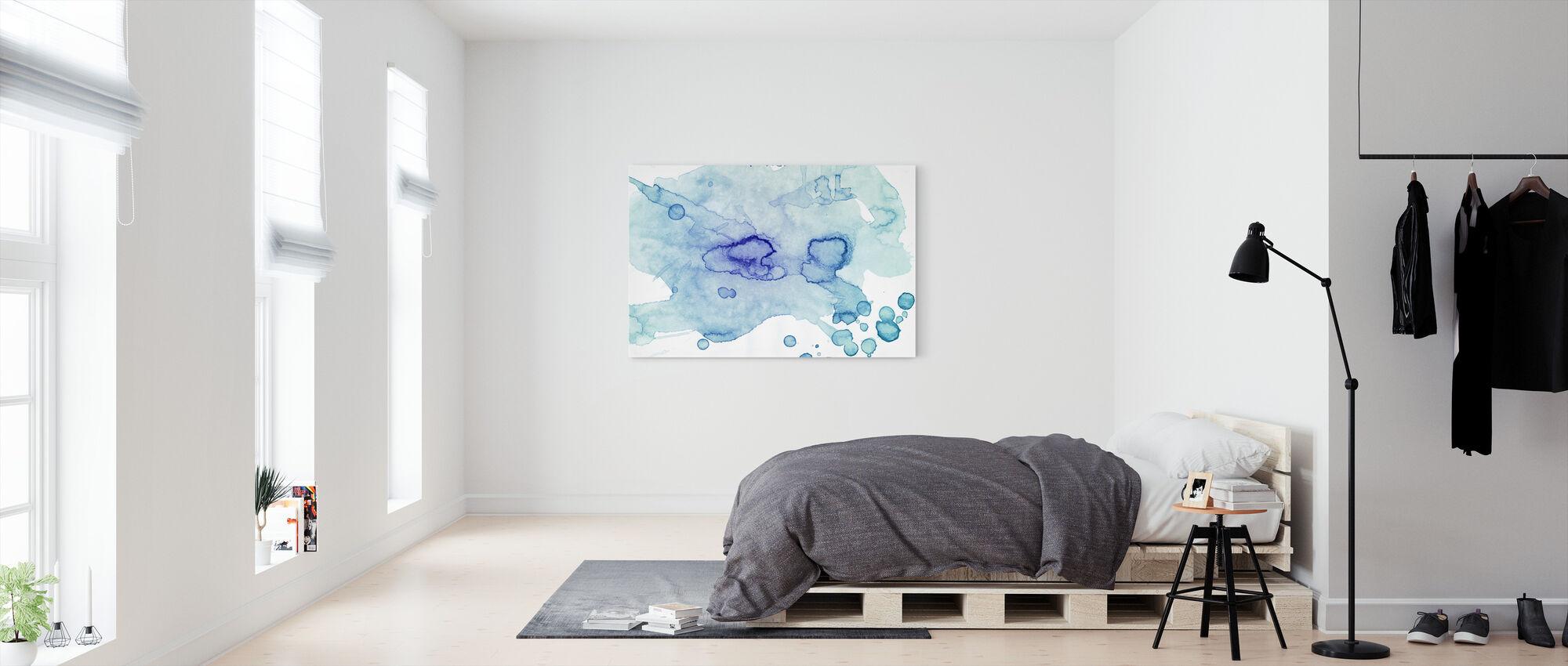 Colour Puddle - Canvas print - Bedroom
