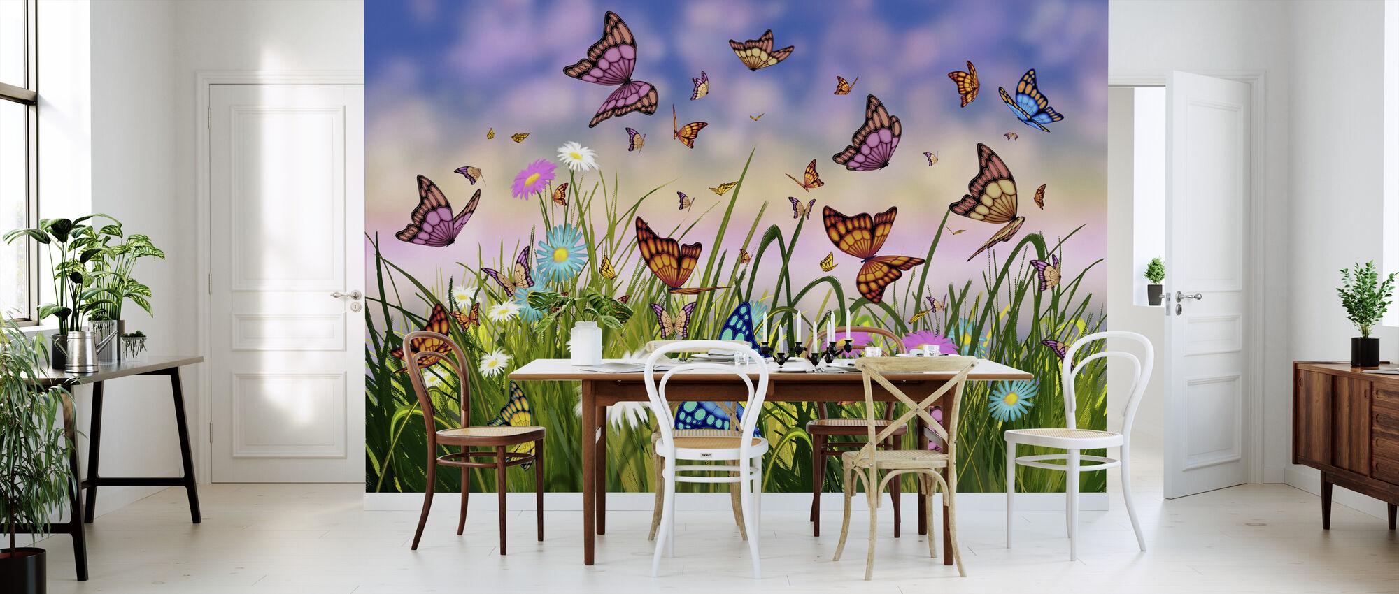 Butterfly Dreams - Wallpaper - Kitchen