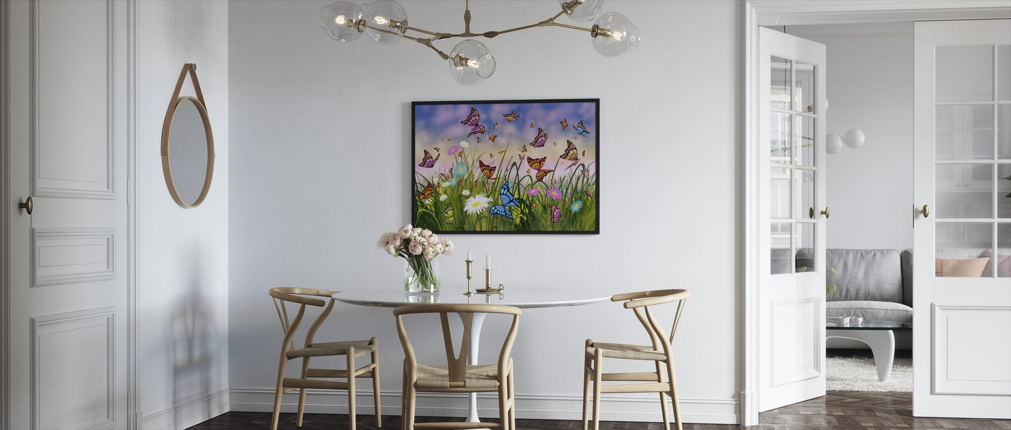 Butterfly Dreams - Framed print - Kitchen