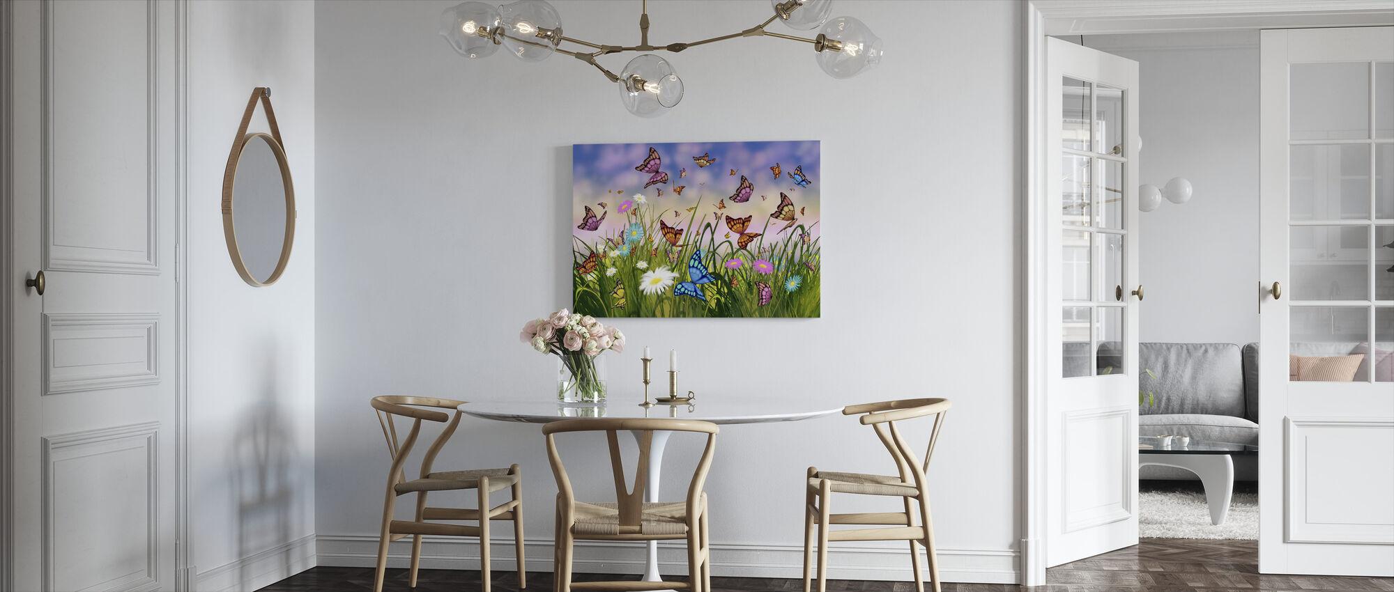 Vlinder Dromen - Canvas print - Keuken