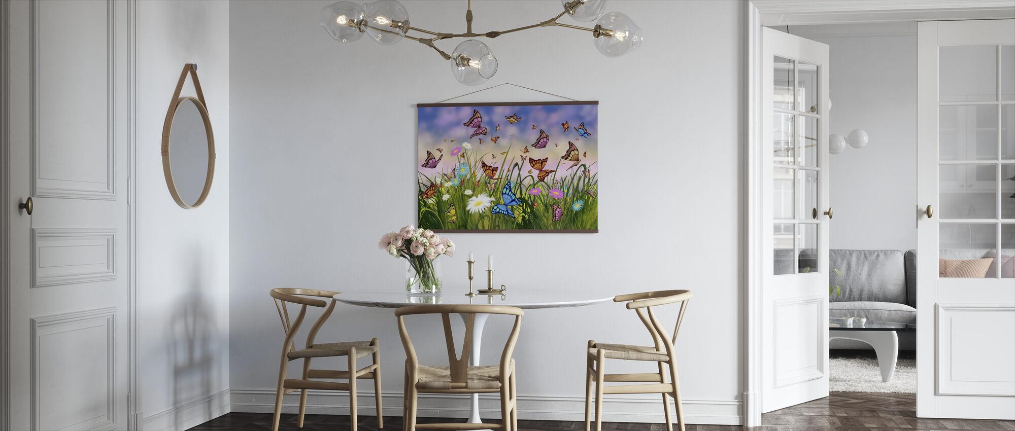 Vlinder Dromen - Poster - Keuken