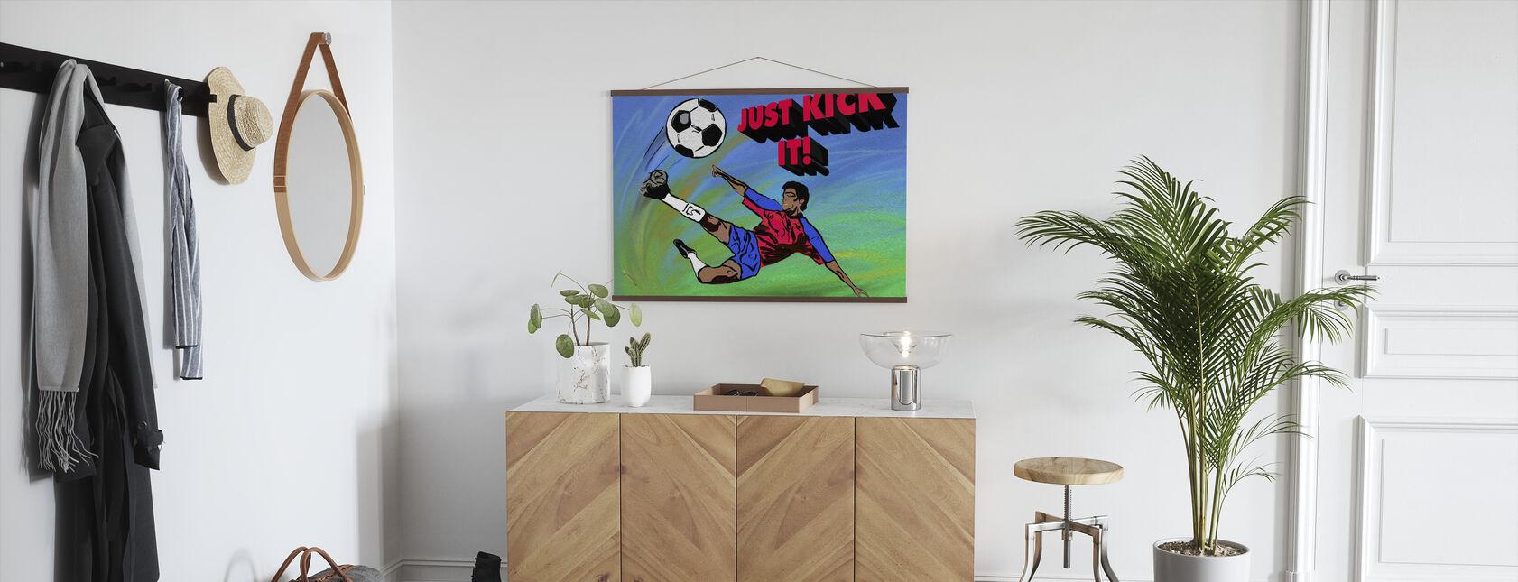 Just Kick It - Poster - Hallway
