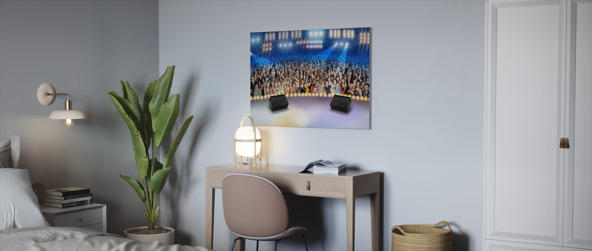 On Stage - Canvas print - Office