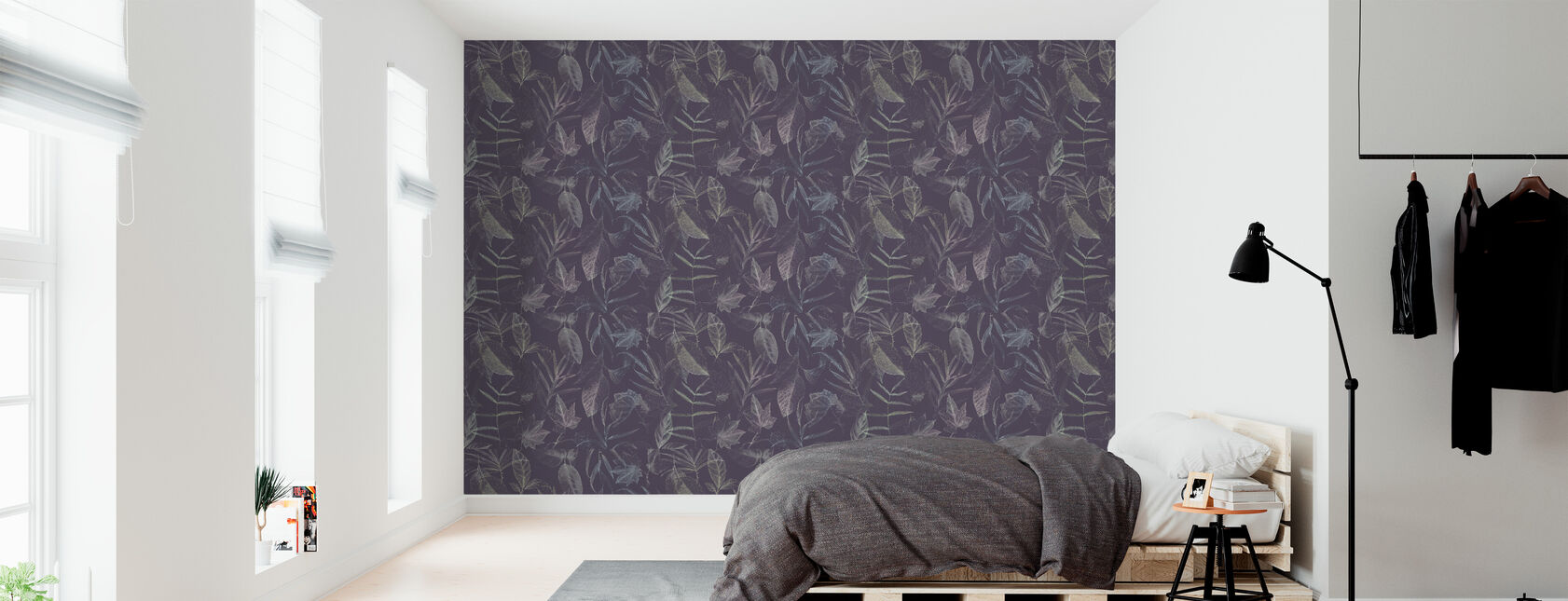 A Forest - Wallpaper - Bedroom