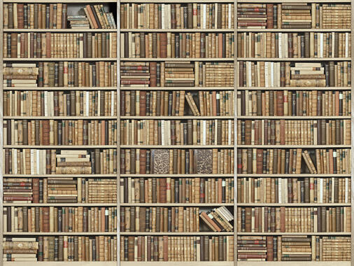 bookshelf wooden beige