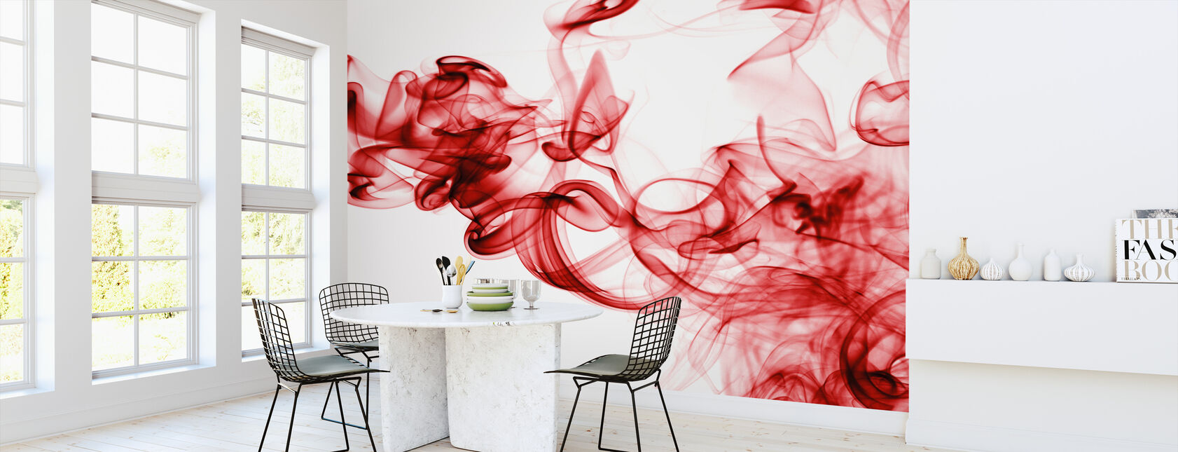 Red Wall Murals