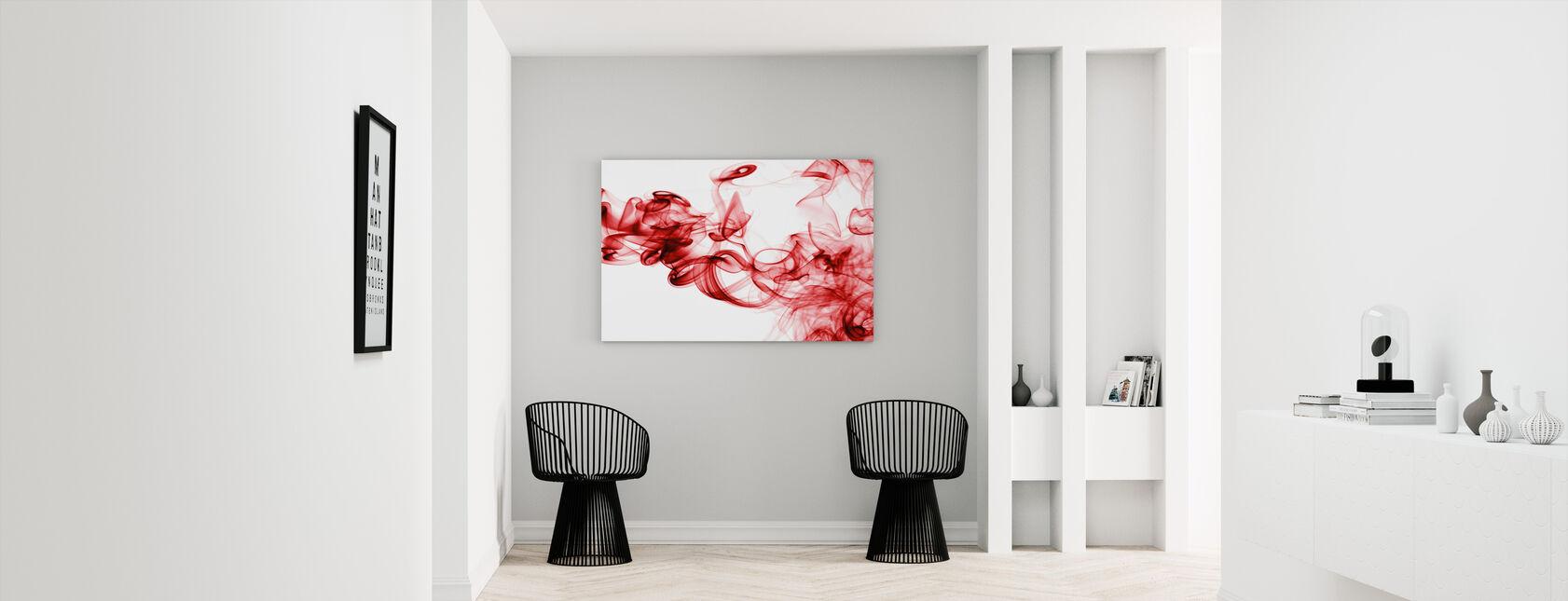 Punainen savu - Canvastaulu - Aula