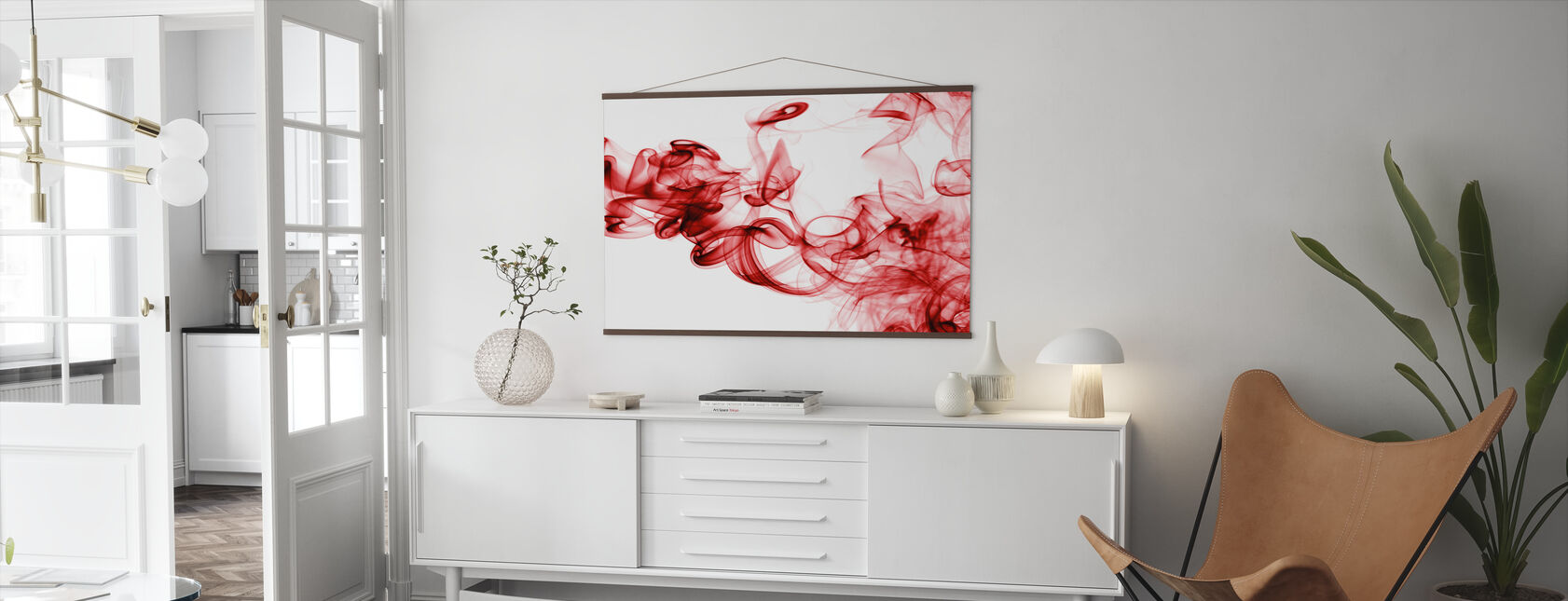 Red Smoke - Poster - Living Room
