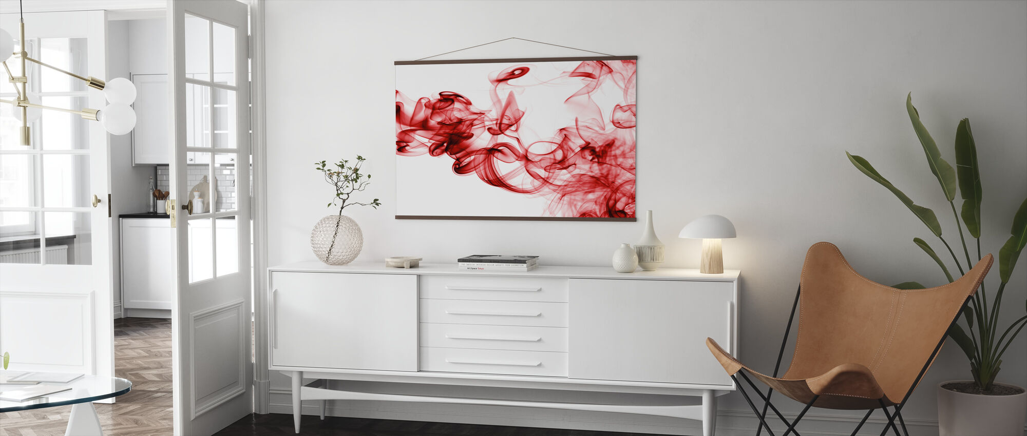 Red Smoke - Poster - Living Room