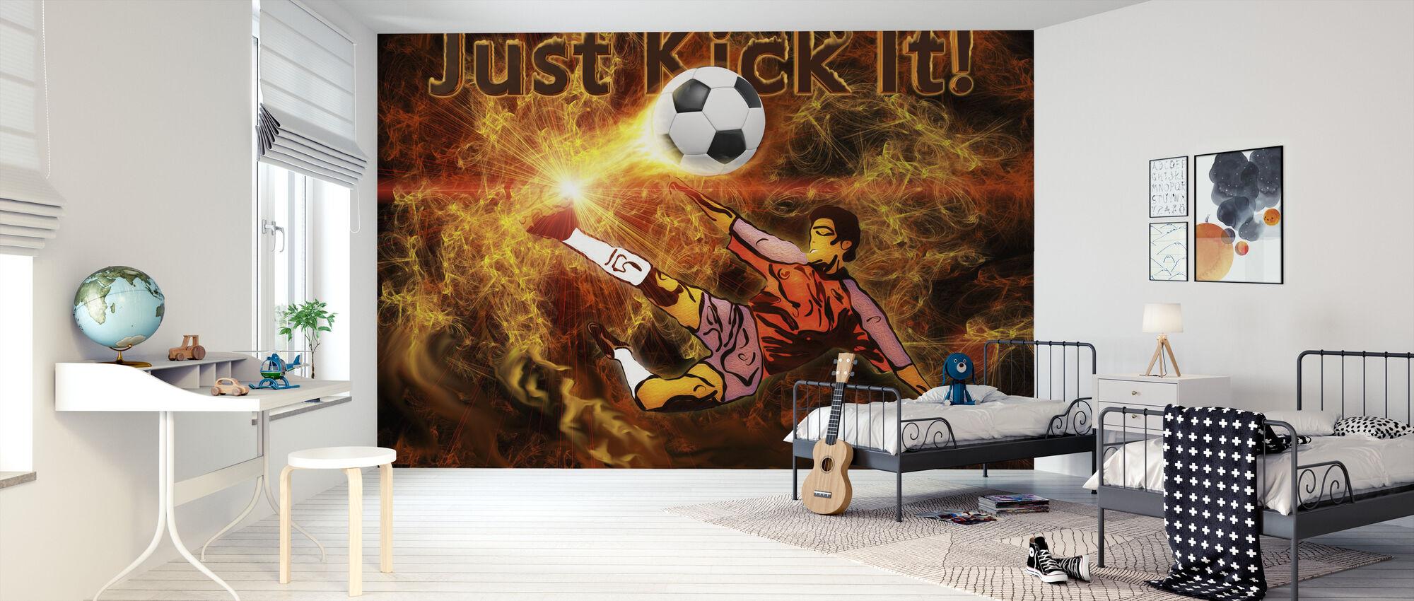Soccer Heat – Eine Fototapete für jeden Raum – Photowall