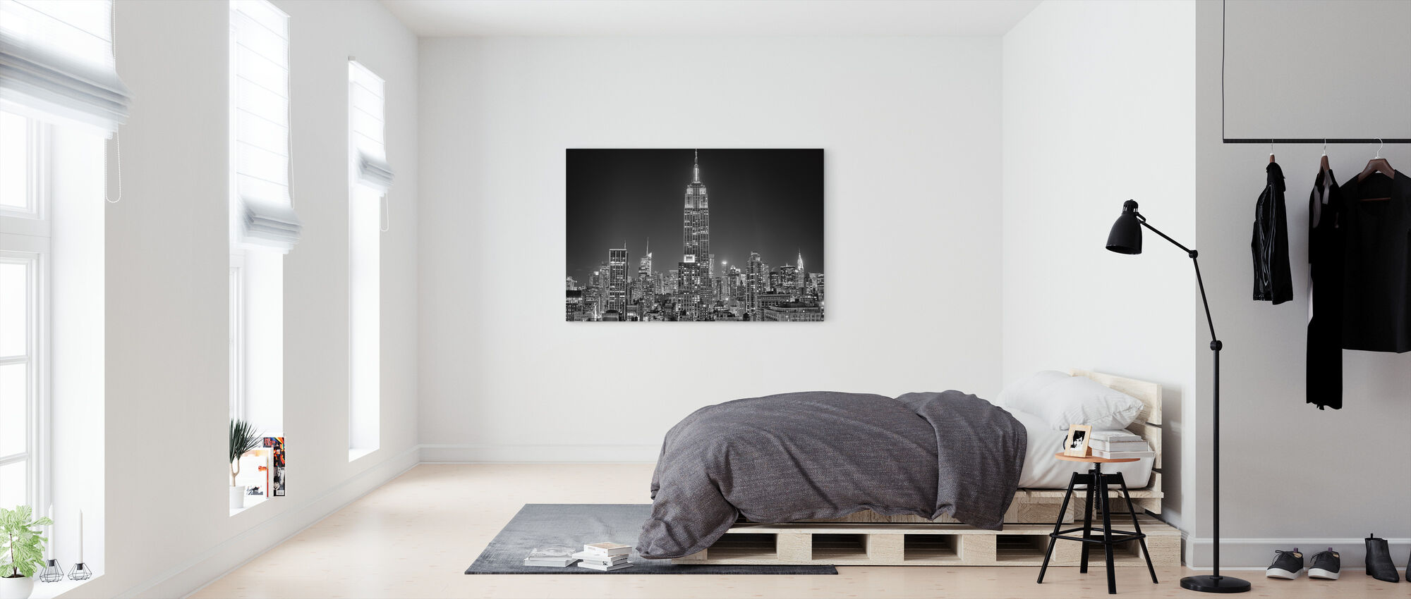 55th Avenue - Canvas print - Bedroom