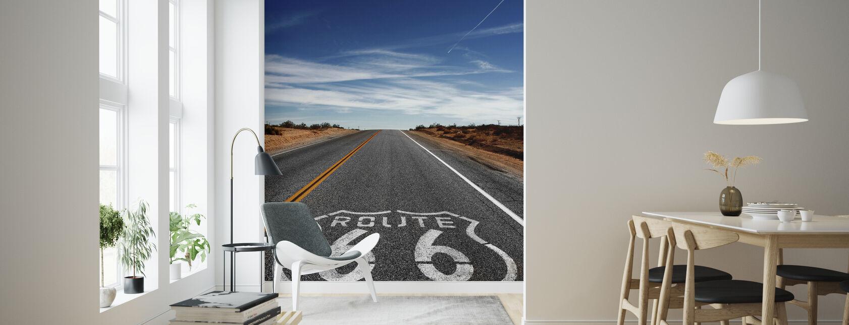 Route 66 Auf der Straße wieder - Tapete - Wohnzimmer