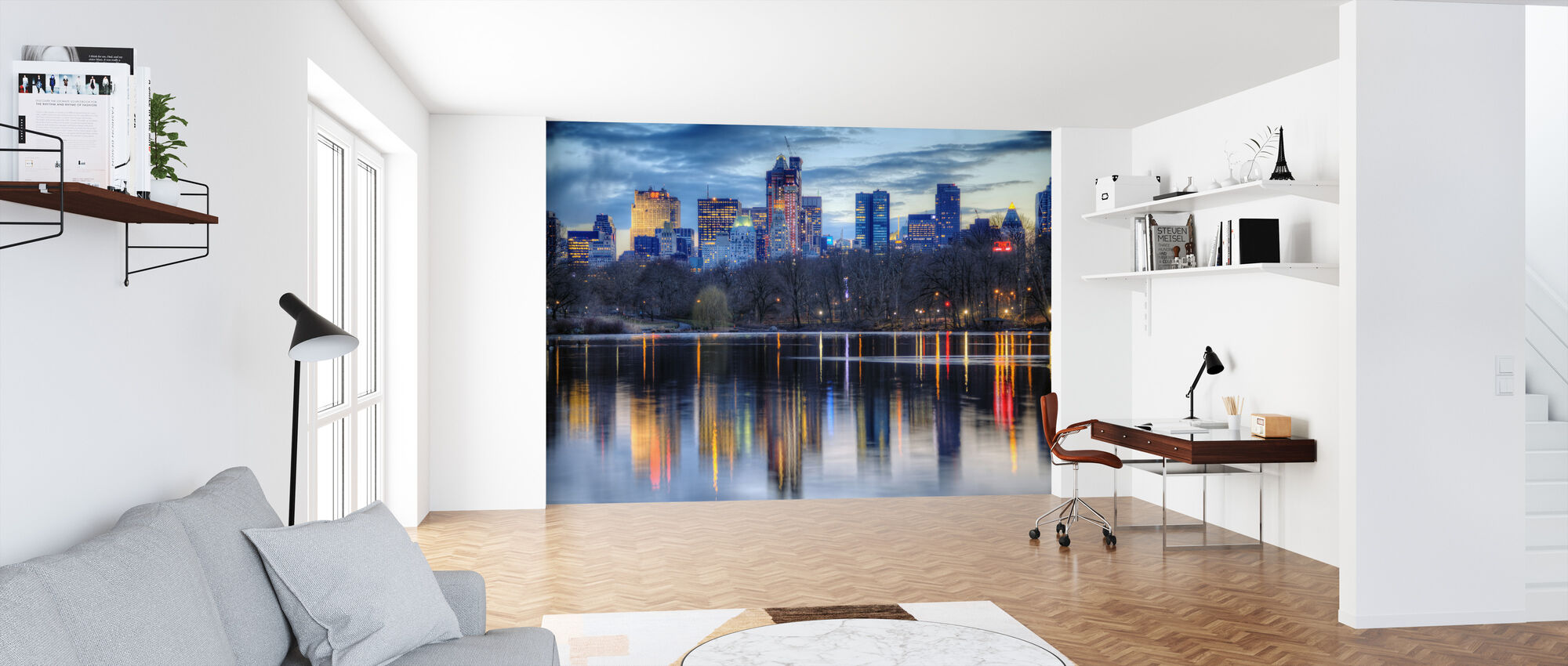 New York Reflexions - Wallpaper - Office
