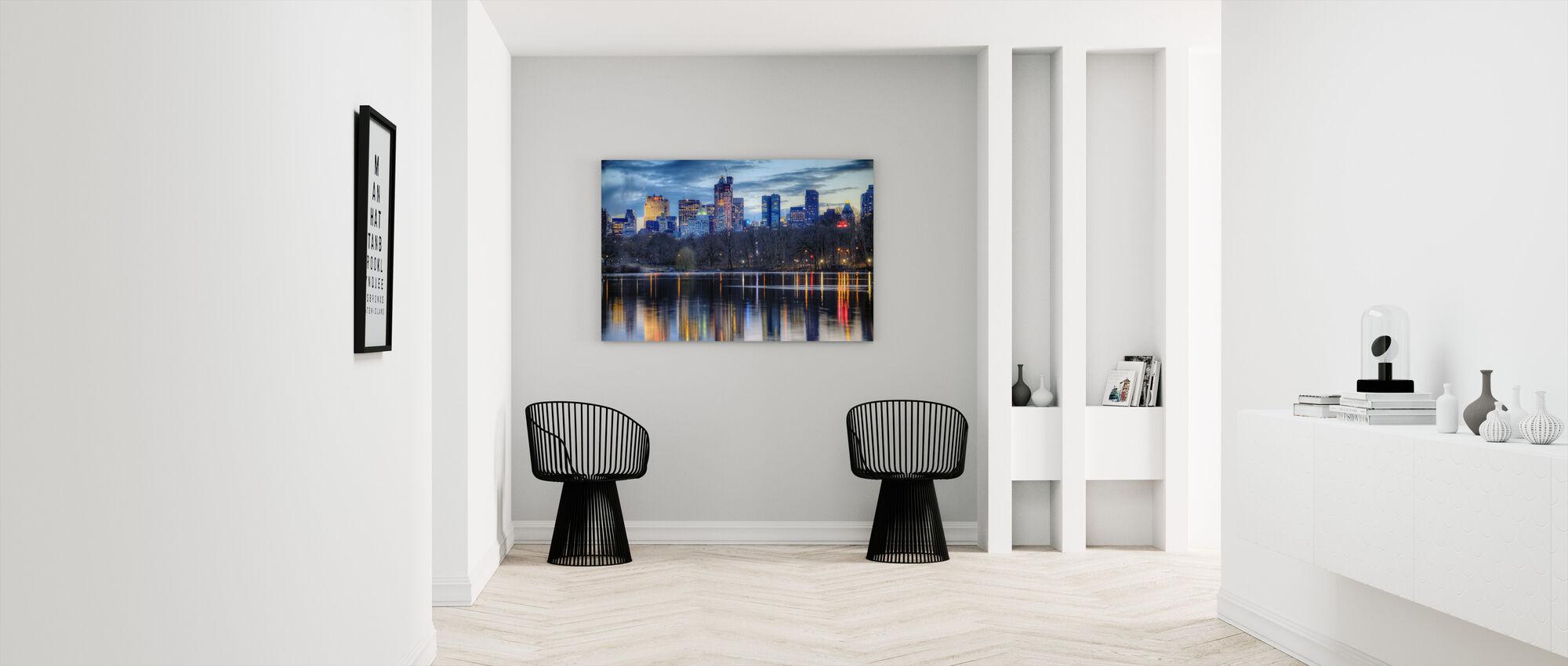 New York Reflexions - Canvastavla - Hall