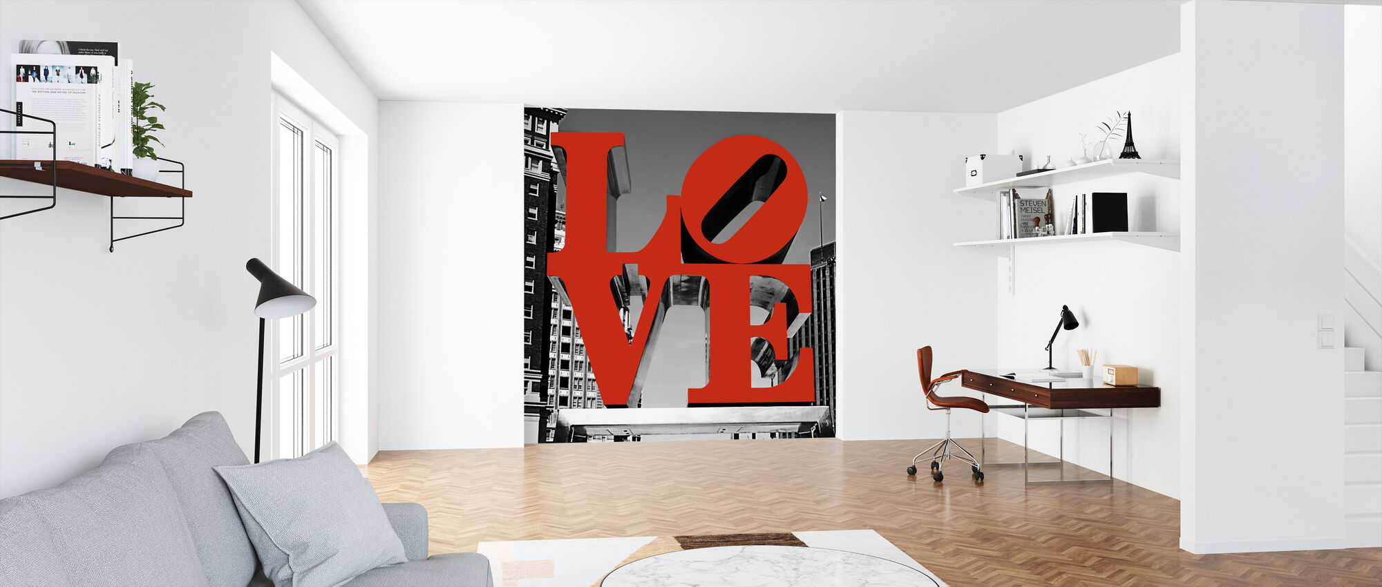 Love Philly - Wallpaper - Office