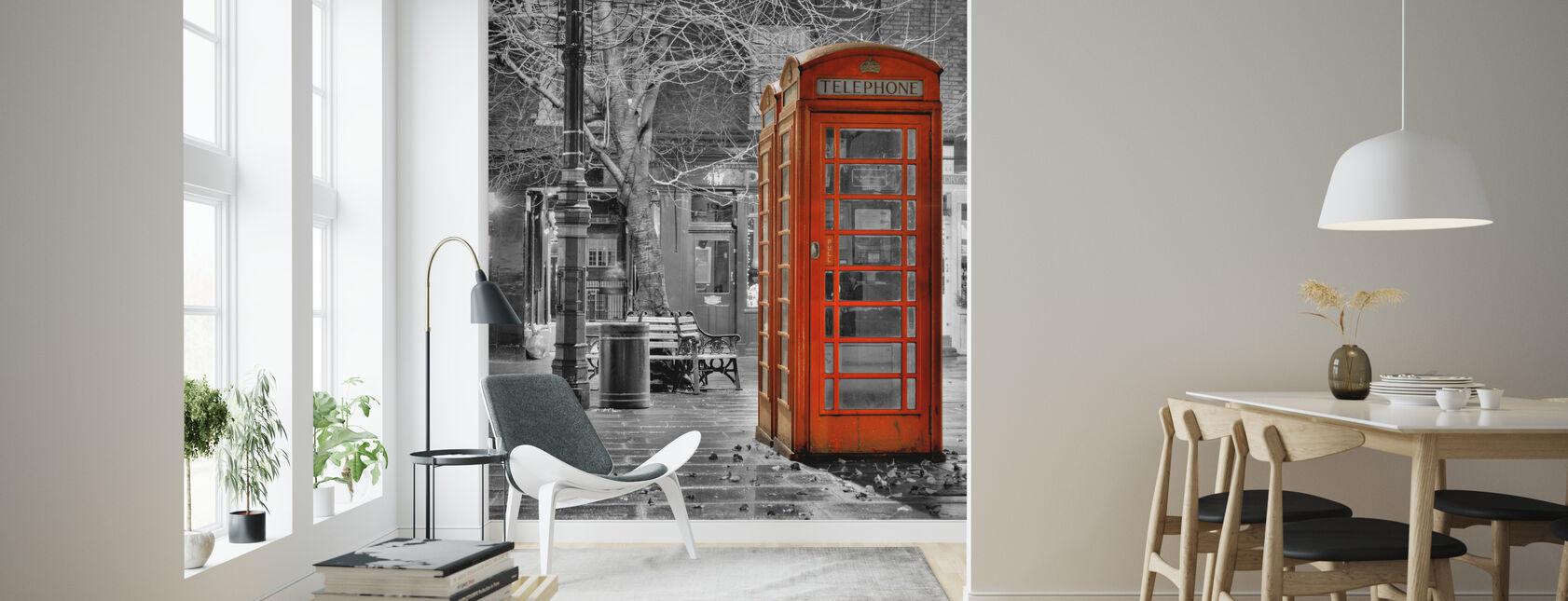 London Telefon - Tapet - Stue
