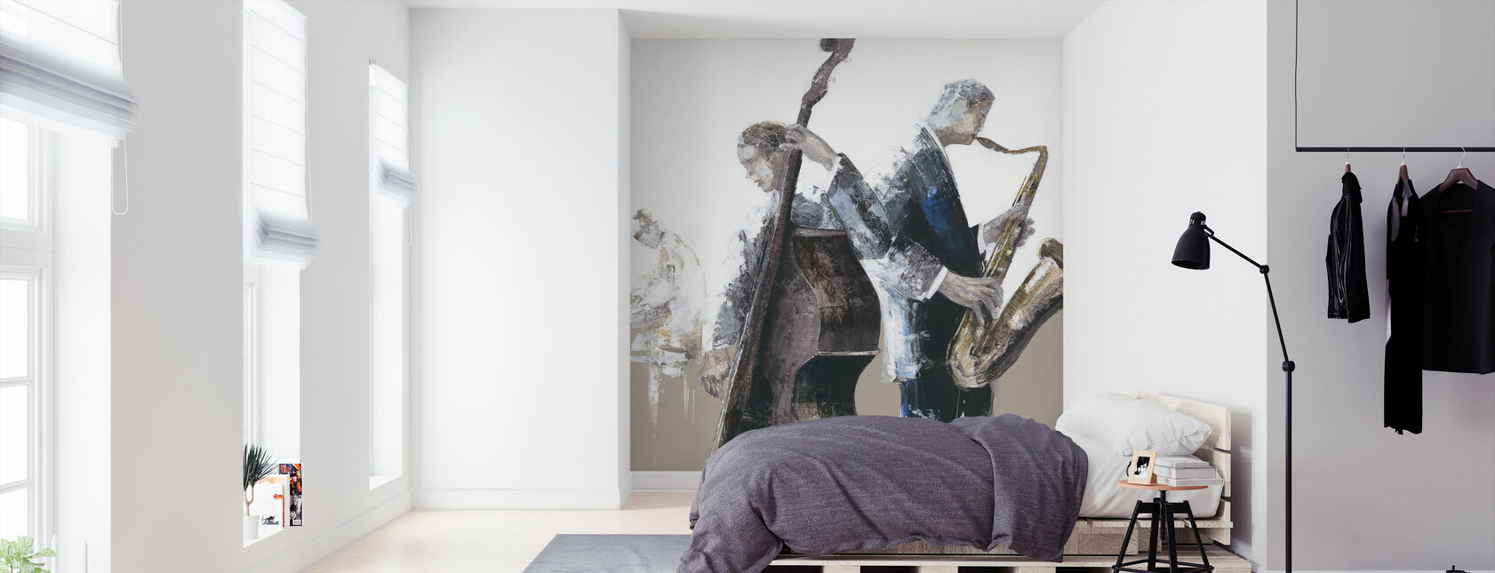 Jazz Band - Wallpaper - Bedroom