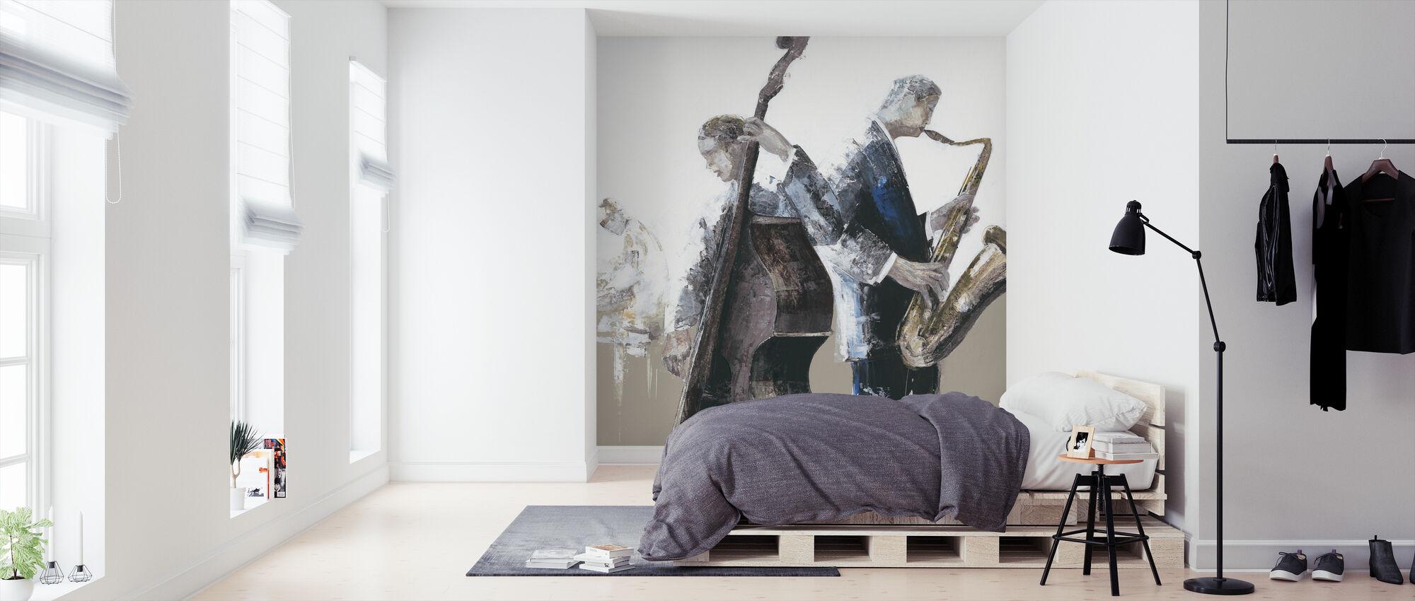 Jazz Band - Wallpaper - Bedroom