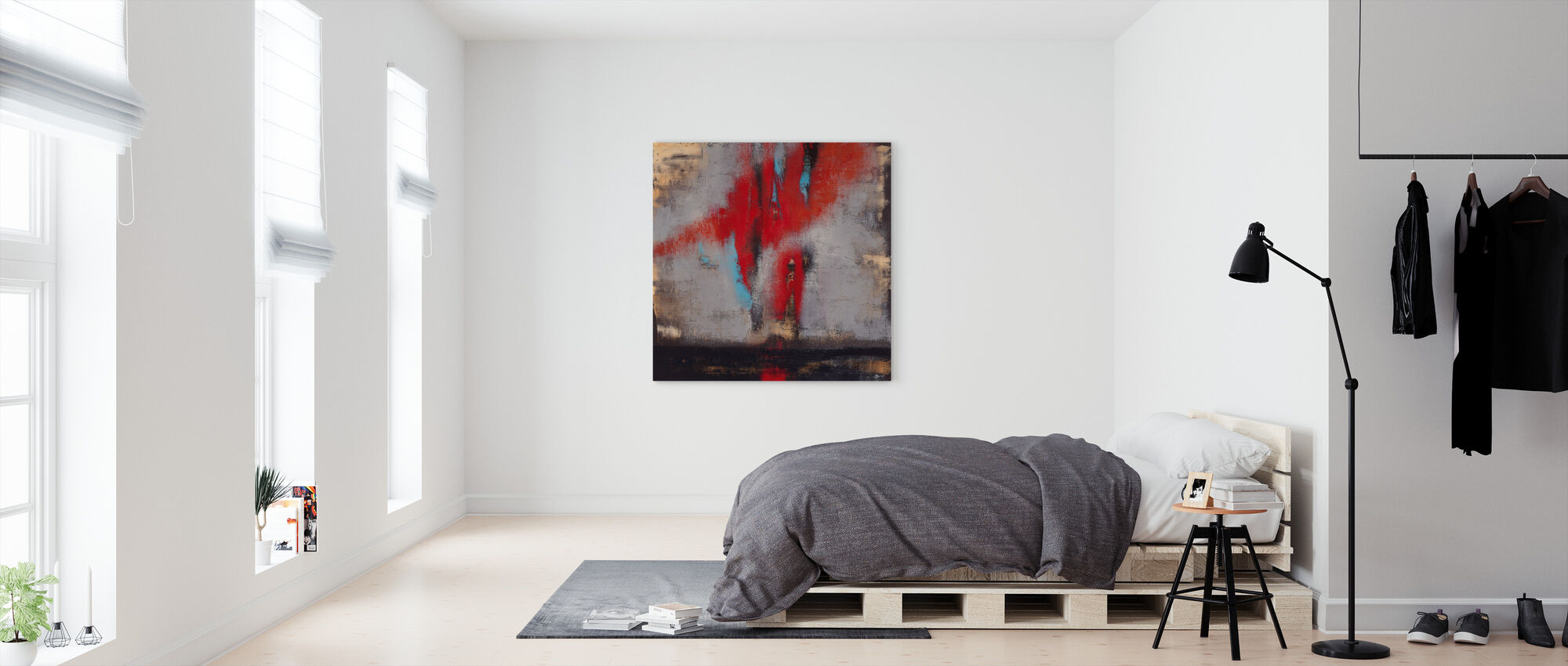 The flight - Canvas print - Bedroom