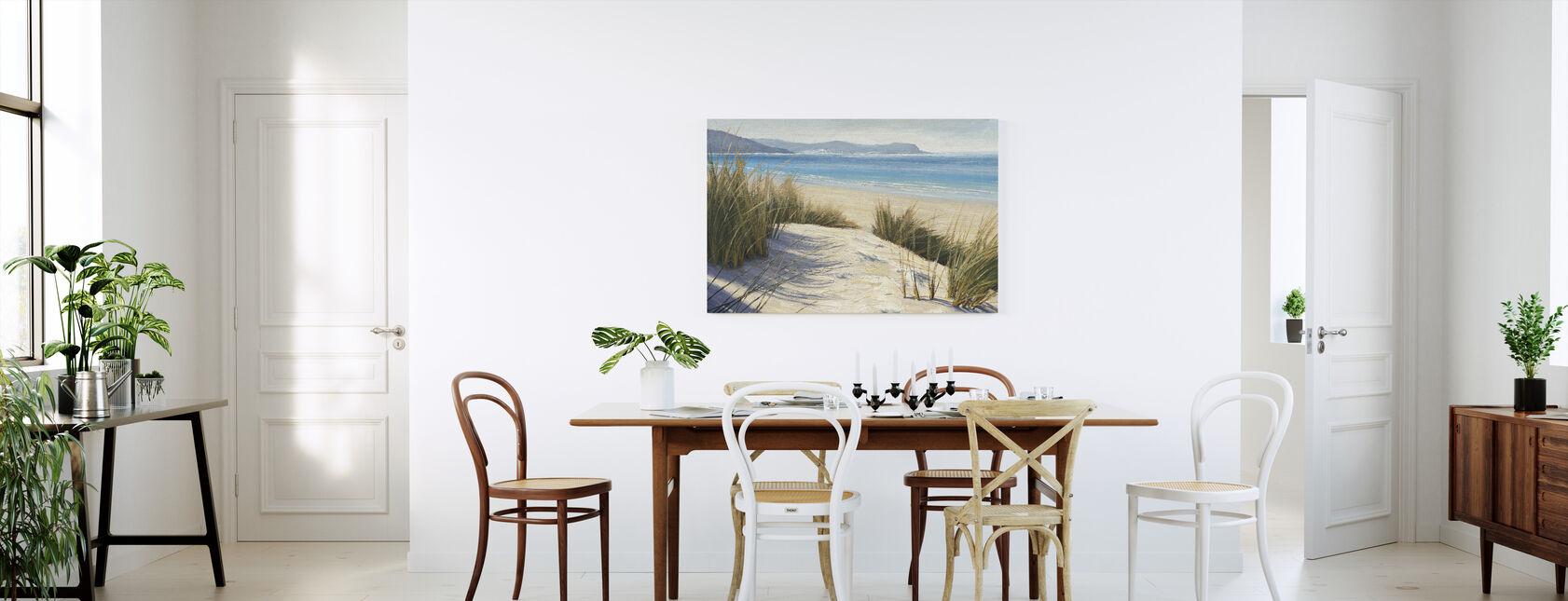 Eftermiddagsanddyner - Canvastavla - Kök