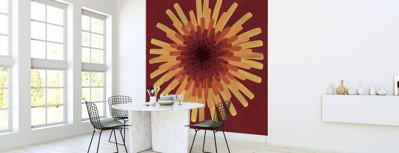 Yellow Dandelion - Wallpaper - Kitchen