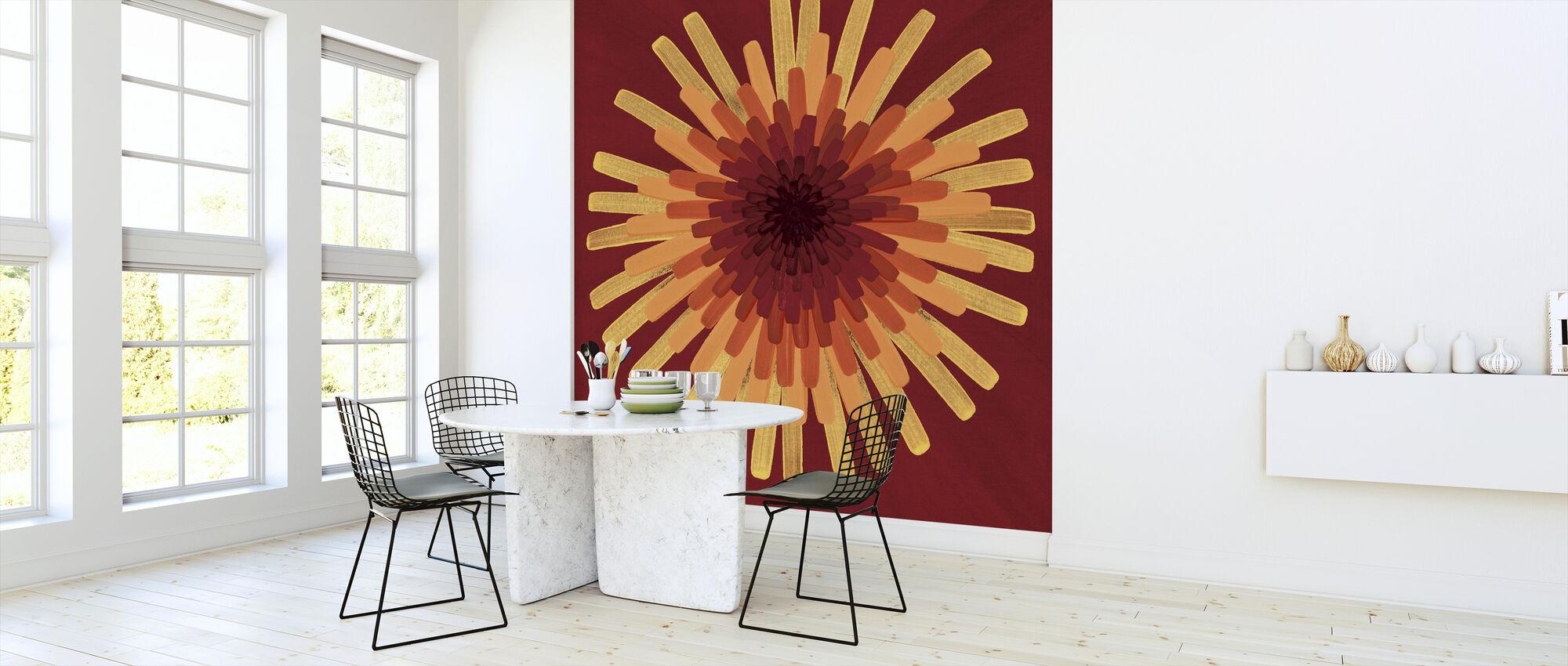 Yellow Dandelion - Wallpaper - Kitchen