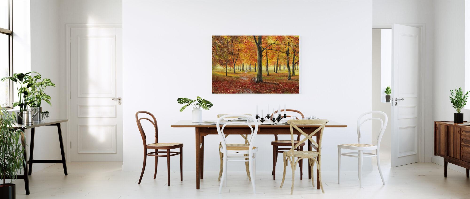 Herbstimpression - Canvas print - Kitchen