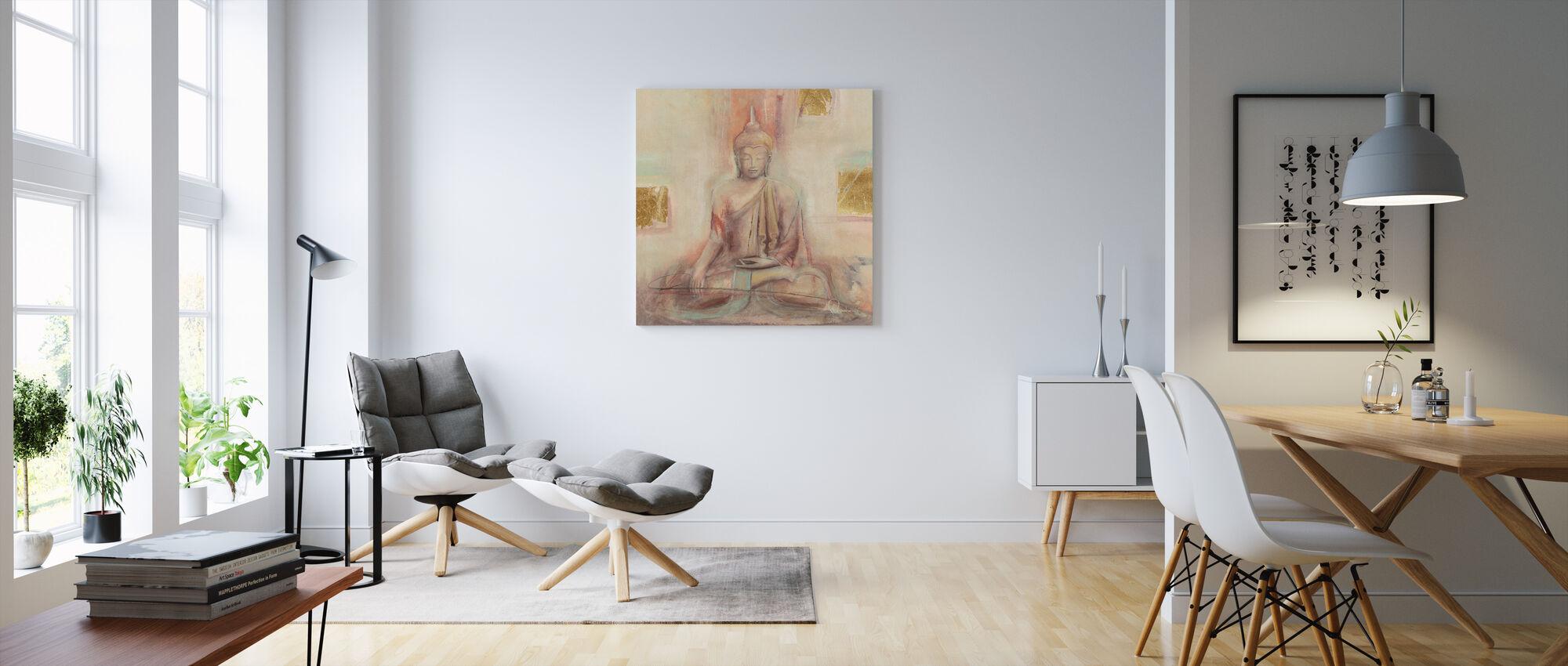 Buddha I - Canvastaulu - Olohuone