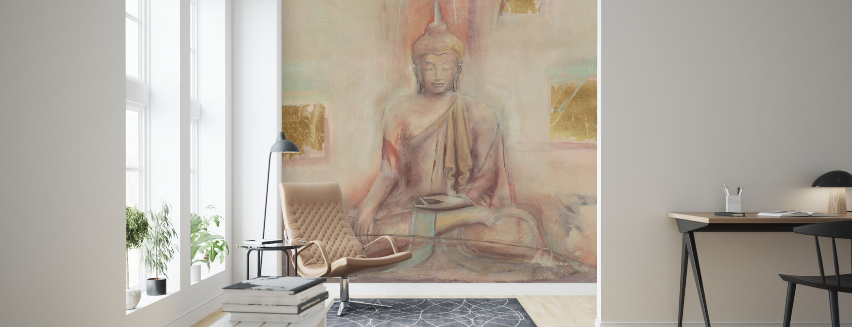 Buddha I - Wallpaper - Living Room