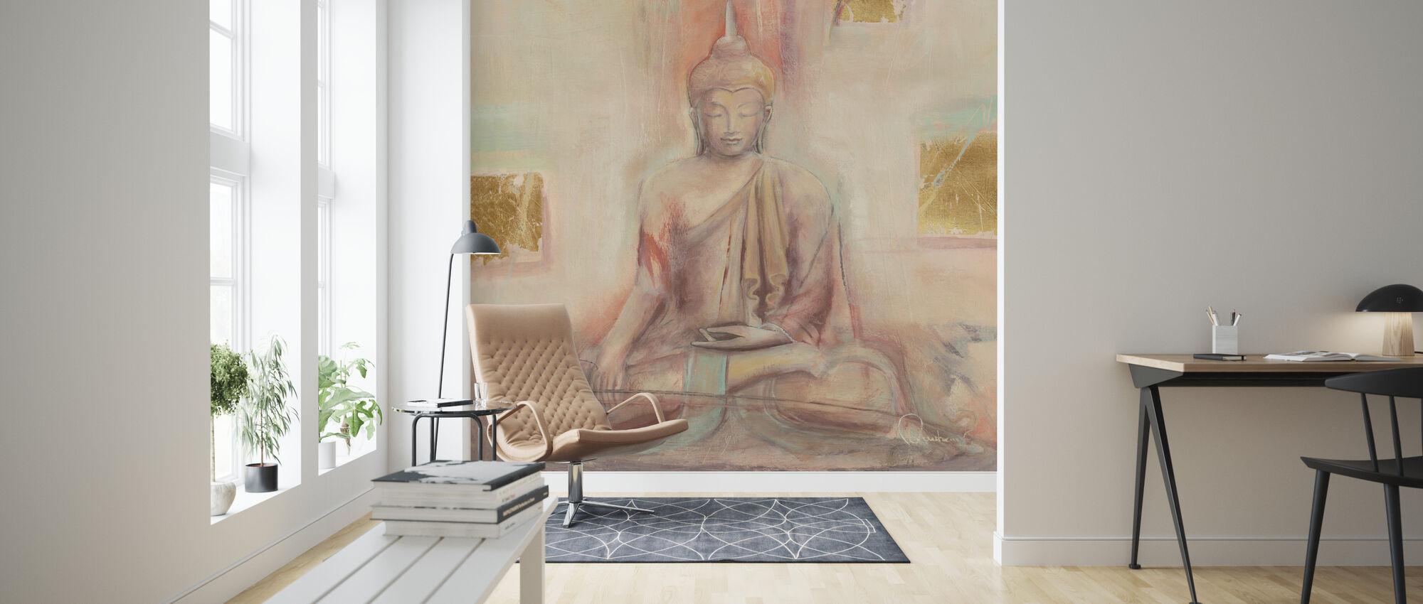 Buddha I - Wallpaper - Living Room