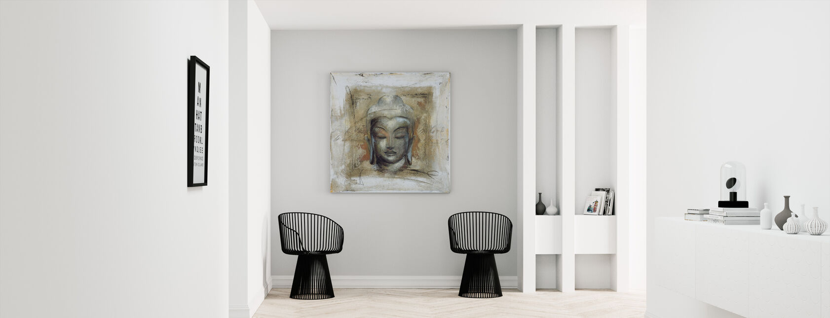 Inner Peace - Canvas print - Hallway