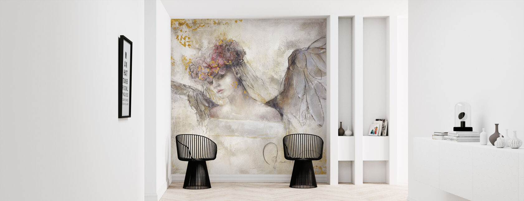 Flower angel - Wallpaper - Hallway