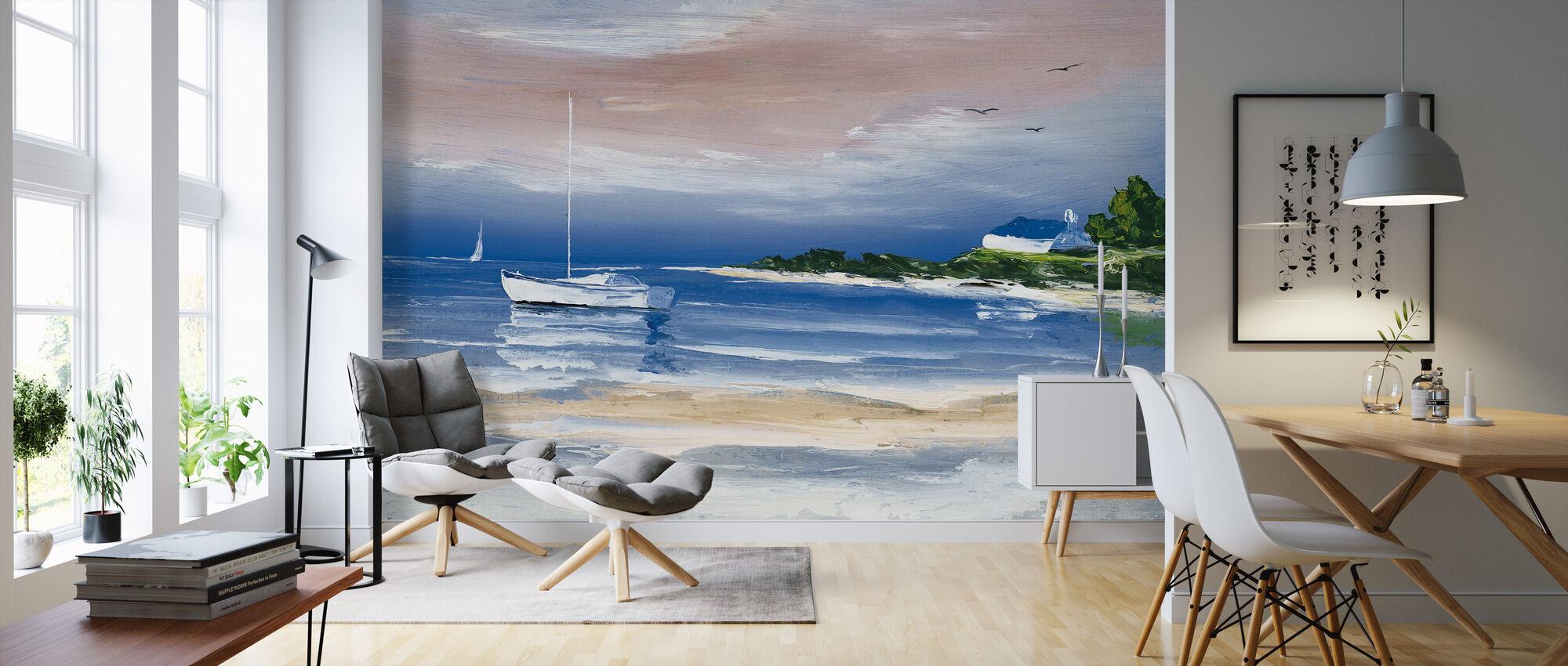 Shore I - Wallpaper - Living Room