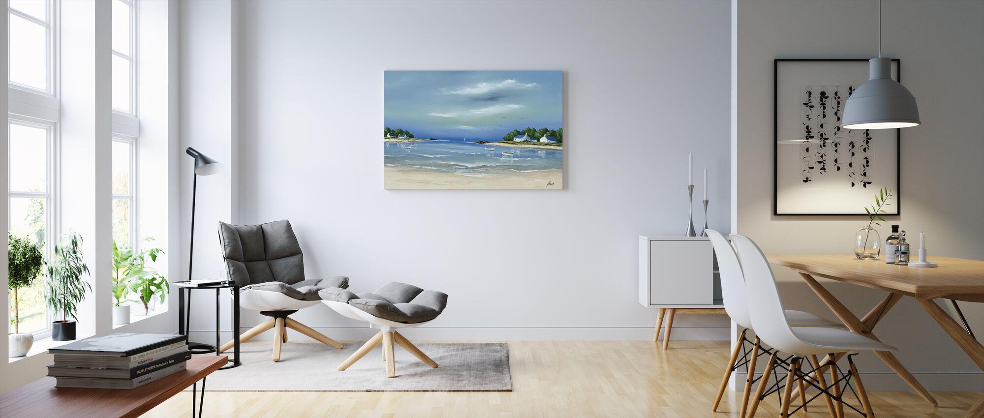 Côte Bretonne II - Canvas print - Living Room